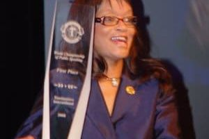 World Champion of Public Speaking --          LaShunda  Rundles  -- 2008